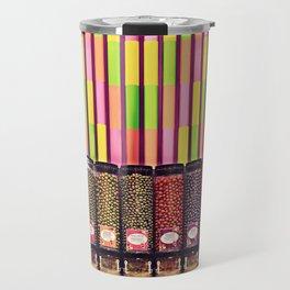 Colorful Candy Store Travel Mug
