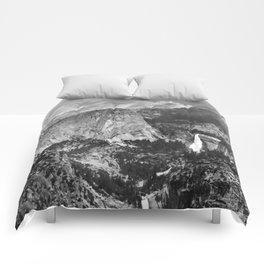 Vernal Falls and Nevada Falls in Yosemite National Park, California, 1901 Comforters