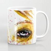 redhead Mugs featuring Redhead Girl by Siriusreno
