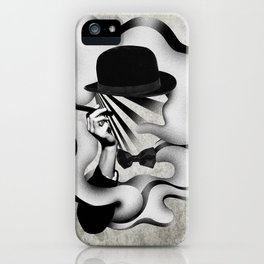 gentle smoke iPhone Case