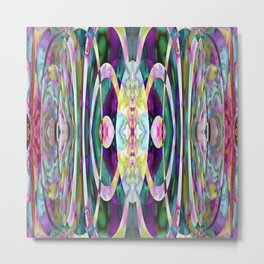 165 - colourful abstract design Metal Print