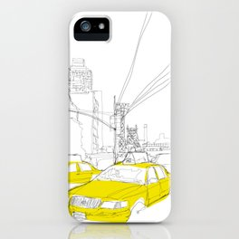 Cross Town Traffic iPhone Case