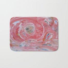 Innere Auge abstrakt Nr. 02 Bath Mat
