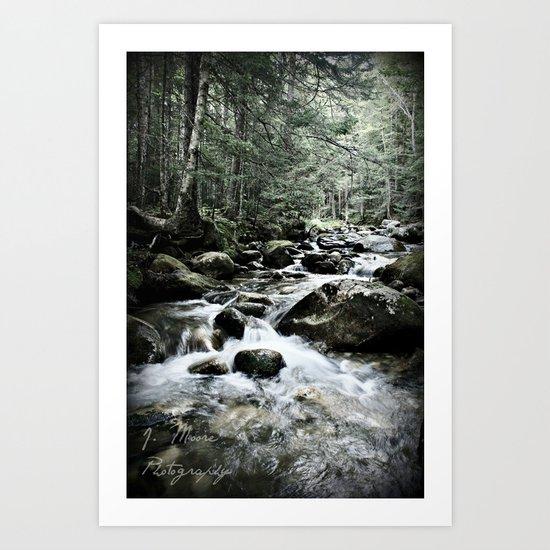 Refreshing Art Print
