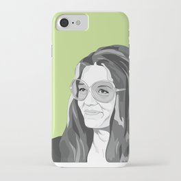 Gloria Steinem iPhone Case