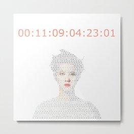 D.O Kyungsoo Kaisoo Countdown Metal Print