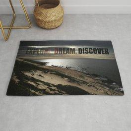 Explore. Dream. Discover Rug