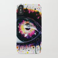 "pixies iPhone & iPod Cases featuring ""Follow me into wonderland"" by PeeGeeArts"