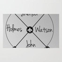 Holmes'Watson Rug