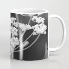 Black and White Floral Mug