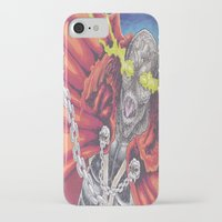 spawn iPhone & iPod Cases featuring Spawn Al Simmons by Wayne Tully