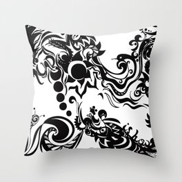 this is how you remind me Throw Pillow