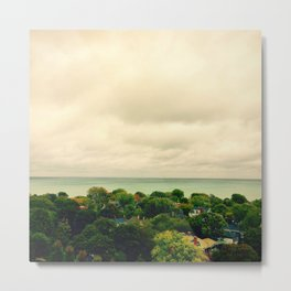 An Evanston View Metal Print