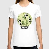 pandas T-shirts featuring Pandas by Volha