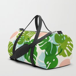 Abstraction_FLORAL_NATURE_Minimalism_001 Duffle Bag