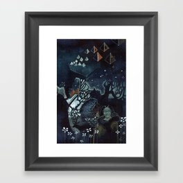 Nights in the North Framed Art Print