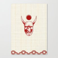 Oni over the sea Canvas Print