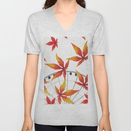 AUTUMN Unisex V-Neck