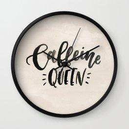 Caffeine Queen Wall Clock