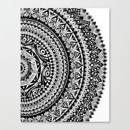 Kokua Mandala Illustration Canvas Print