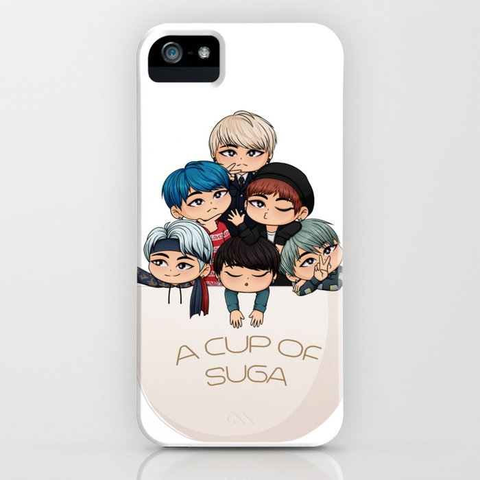 a cup of suga iphone case