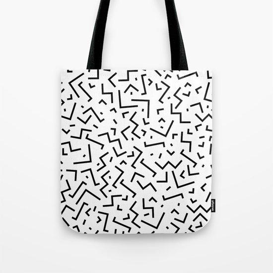 Memphis pattern 30 Tote Bag