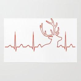 HUNTING HEARTBEAT Rug