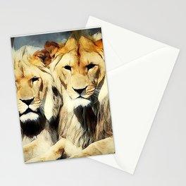 lion's harmoni Stationery Cards