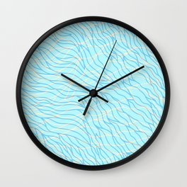 Sea Breeze Wall Clock