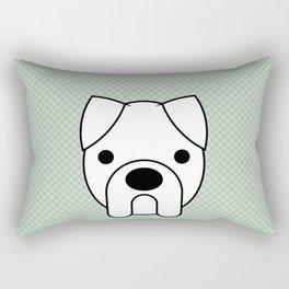 Pop Dog Boxer Rectangular Pillow