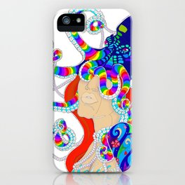 Octopus Woman iPhone Case