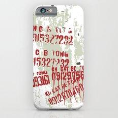 Spray iPhone 6s Slim Case