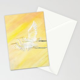 Great Egrets Stationery Cards