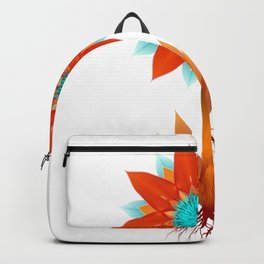 Fire bloom Backpack
