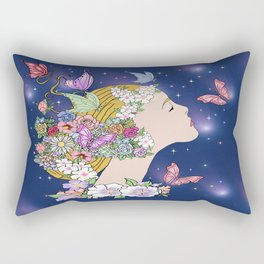 Allegory of Spring 4 Rectangular Pillow