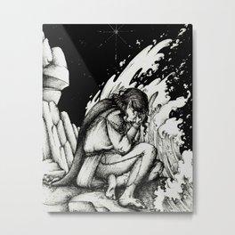 Maglor by the sea Metal Print