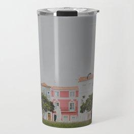 Colourful Row Travel Mug