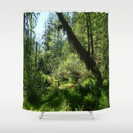 Hoh Rainforest Tones Shower Curtain