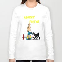 crossfit Long Sleeve T-shirts featuring jesse&kilo crossfit fortius by Threads and Thrusters