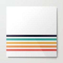 PB Rainbow Metal Print