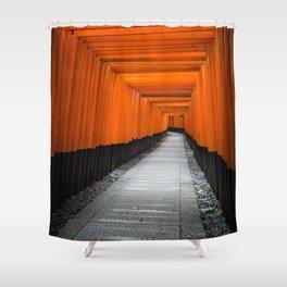 Kyoto Shrine Shower Curtain