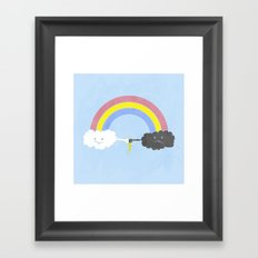 rain bros Framed Art Print