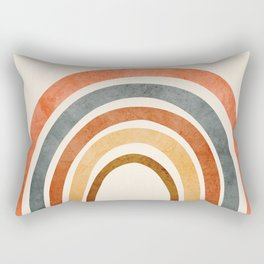 Abstract Rainbow 88 Rectangular Pillow