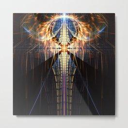 Fractality - Zachariel Metal Print