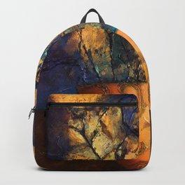 Orange Pot Backpack