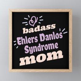 Ehlers Danlos Syndrome Awareness Framed Mini Art Print
