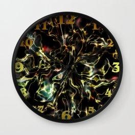 Black Marble Energy Wall Clock