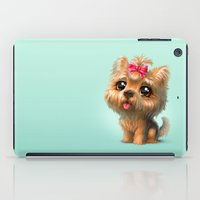 terrier iPad Cases featuring Yorkshire Terrier by Antracit