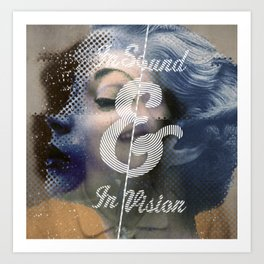 In sound&vision Art Print
