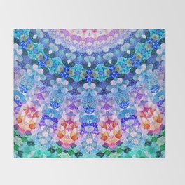 COSMIC KISS Throw Blanket